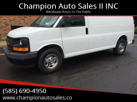 2003 Chevrolet Express Cargo for sale at Champion Auto Sales II INC in Rochester NY