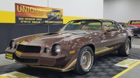 1979 Chevrolet Camaro for sale at UNIQUE SPECIALTY & CLASSICS in Mankato MN