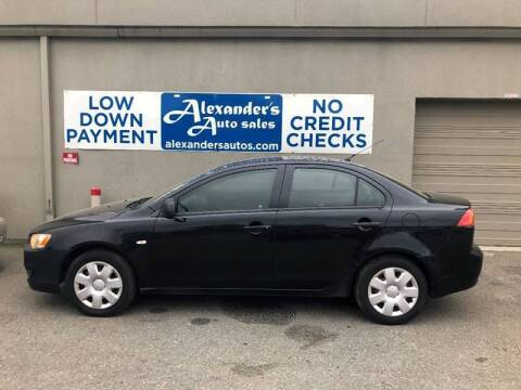 2008 Mitsubishi Lancer for sale at Alexander's Auto Sales in North Little Rock AR