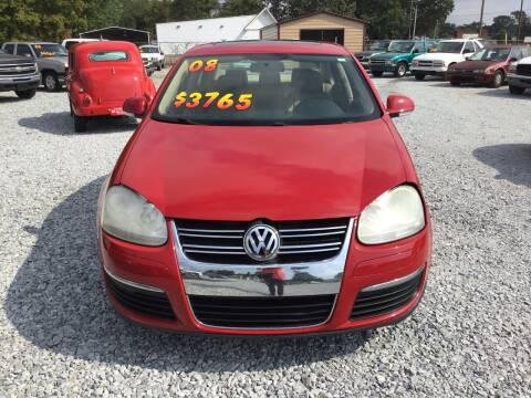 2008 Volkswagen Jetta for sale at K & E Auto Sales in Ardmore AL