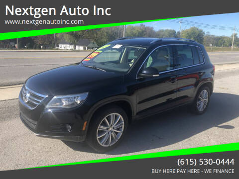 2010 Volkswagen Tiguan for sale at Nextgen Auto Inc in Smithville TN