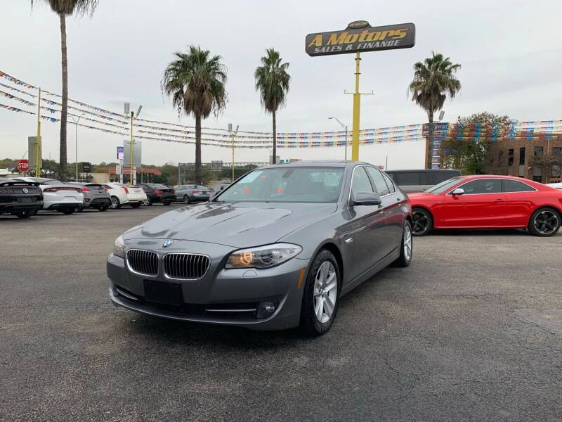 2011 BMW 5 Series for sale at A MOTORS SALES AND FINANCE - 5630 San Pedro Ave in San Antonio TX