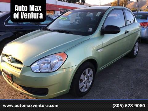 2007 Hyundai Accent for sale at Auto Max of Ventura in Ventura CA