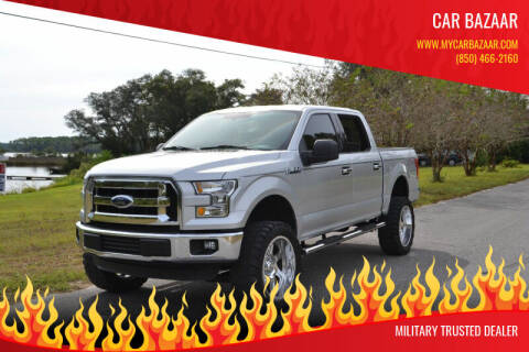 2015 Ford F-150 for sale at Car Bazaar in Pensacola FL