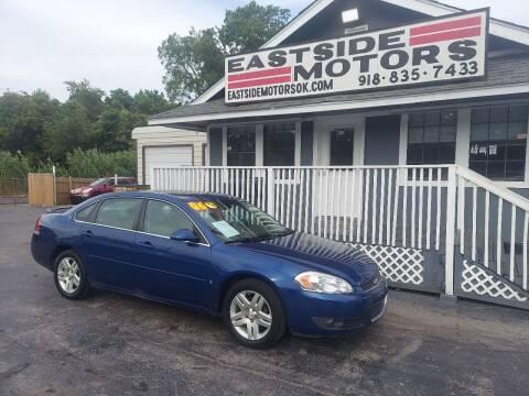 2006 Chevrolet Impala for sale at EASTSIDE MOTORS in Tulsa OK