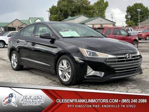 2019 Hyundai Elantra for sale at Ole Ben Franklin Motors Clinton Highway in Knoxville TN