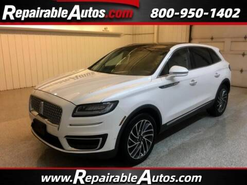 2019 Lincoln Nautilus for sale at Ken's Auto in Strasburg ND