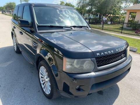 2011 Land Rover Range Rover Sport for sale at Eden Cars Inc in Hollywood FL
