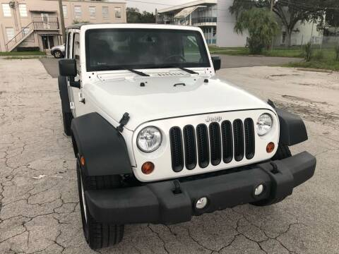 2013 Jeep Wrangler Unlimited for sale at Consumer Auto Credit in Tampa FL