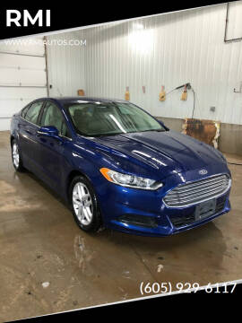2016 Ford Fusion for sale at RMI in Chancellor SD