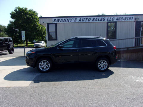 2016 Jeep Cherokee for sale at Swanny's Auto Sales in Newton NC