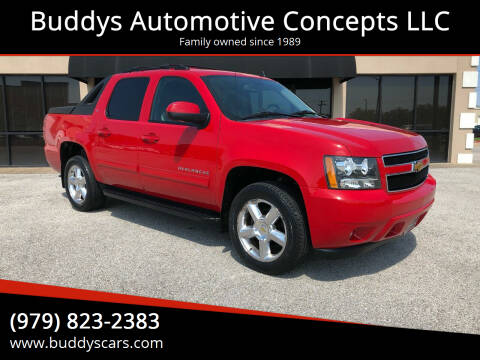 2011 Chevrolet Avalanche for sale at Buddys Automotive Concepts LLC in Bryan TX