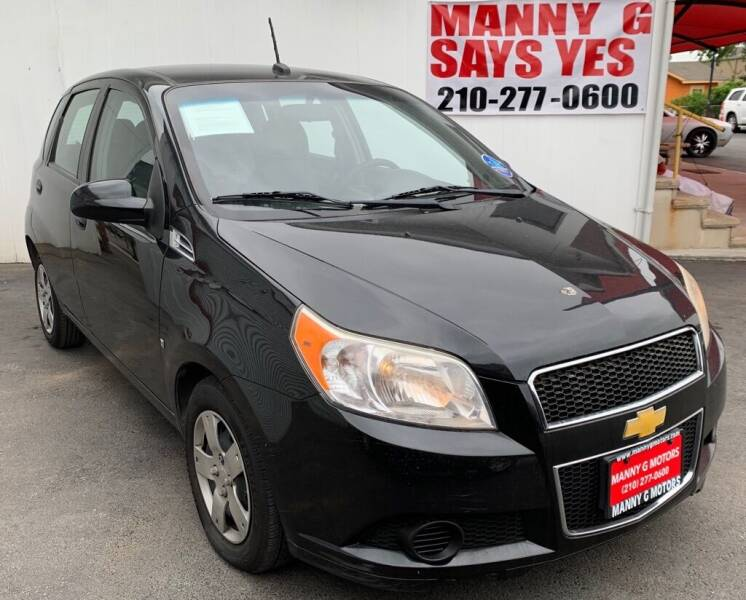 2009 Chevrolet Aveo for sale at Manny G Motors in San Antonio TX