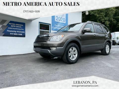 2009 Kia Borrego for sale at METRO AMERICA AUTO SALES of Lebanon in Lebanon PA