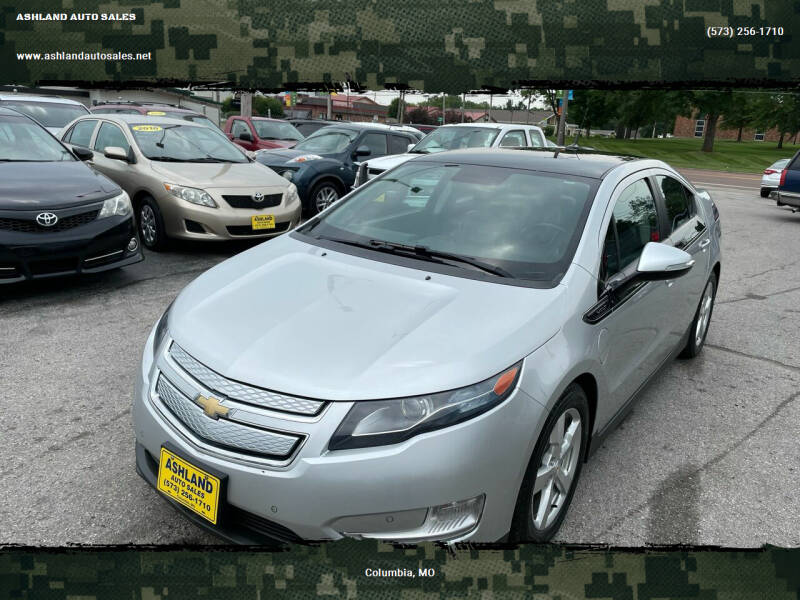 2011 Chevrolet Volt for sale at ASHLAND AUTO SALES in Columbia MO