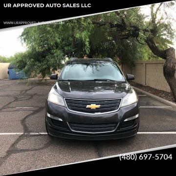 2014 Chevrolet Traverse for sale at UR APPROVED AUTO SALES LLC in Tempe AZ