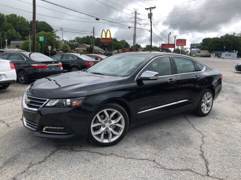 2016 Chevrolet Impala for sale at Penland Automotive Group in Laurens SC