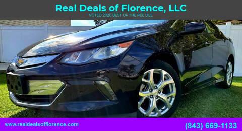 2017 Chevrolet Volt for sale at Real Deals of Florence, LLC in Effingham SC