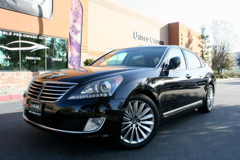 2016 Hyundai Equus for sale at CK Motors in Murrieta CA