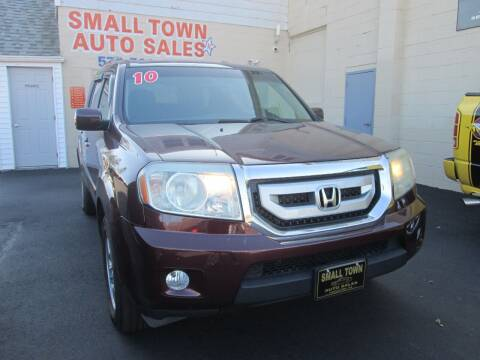 2010 Honda Pilot for sale at Small Town Auto Sales in Hazleton PA