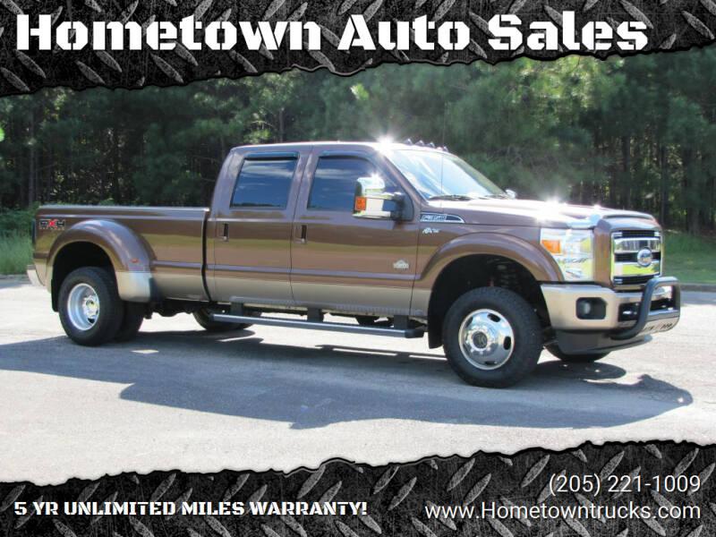 2011 Ford F-350 Super Duty for sale at Hometown Auto Sales - Trucks in Jasper AL