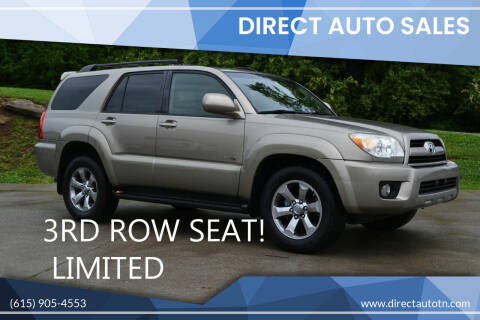 2007 Toyota 4Runner for sale at Direct Auto Sales in Franklin TN