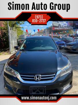 2015 Honda Accord for sale at Simon Auto Group in Newark NJ