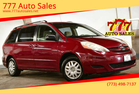 2008 Toyota Sienna for sale at 777 Auto Sales in Bedford Park IL