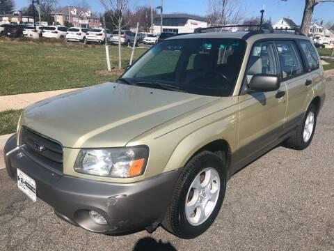 2004 Subaru Forester for sale at EZ Auto Sales , Inc in Edison NJ