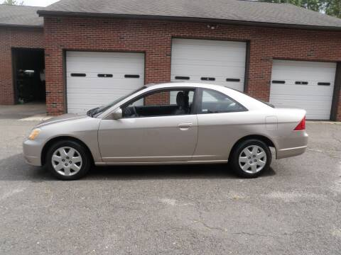 2002 Honda Civic for sale at Wolcott Auto Exchange in Wolcott CT