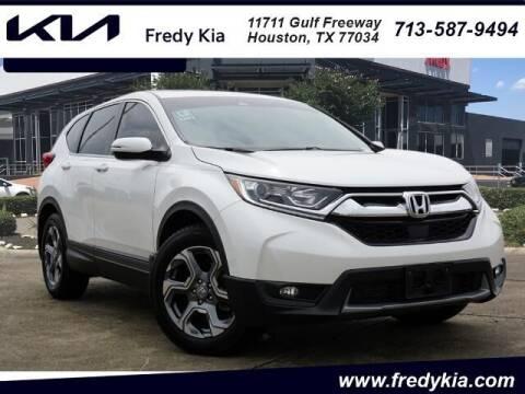 2019 Honda CR-V for sale at FREDY KIA USED CARS in Houston TX