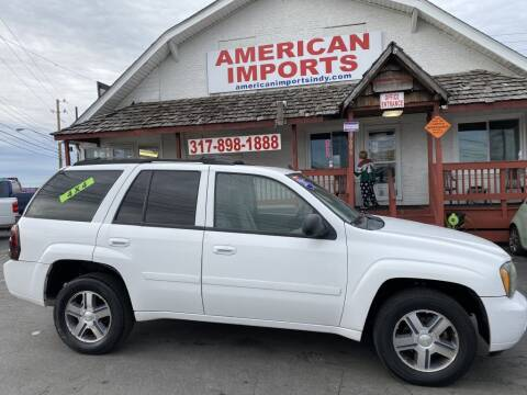 2007 Chevrolet TrailBlazer for sale at American Imports INC in Indianapolis IN