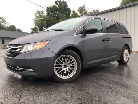 2014 Honda Odyssey for sale at El Camino Auto Sales Gainesville in Gainesville GA