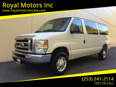 2008 Ford E-Series Wagon for sale at Royal Motors Inc in Kent WA