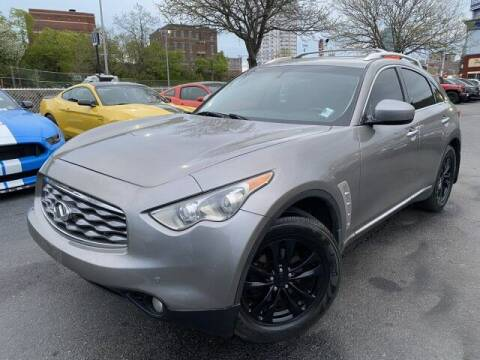 2010 Infiniti FX35 for sale at Sonias Auto Sales in Worcester MA