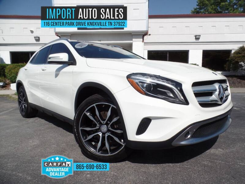 2015 Mercedes-Benz GLA for sale at IMPORT AUTO SALES in Knoxville TN