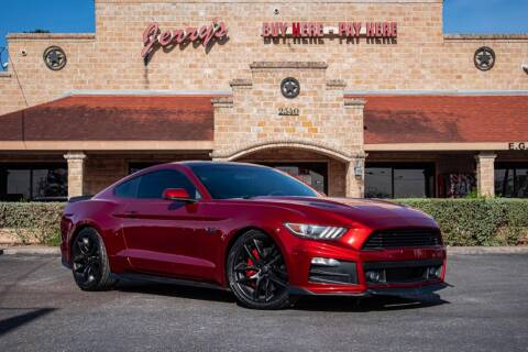 2015 Ford Mustang for sale at Jerrys Auto Sales in San Benito TX