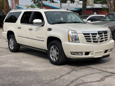 2008 Cadillac Escalade ESV for sale at AWESOME CARS LLC in Austin TX