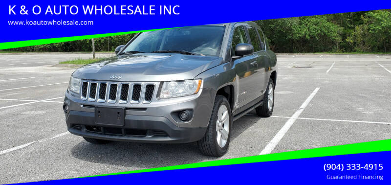 2011 Jeep Compass for sale at K & O AUTO WHOLESALE INC in Jacksonville FL