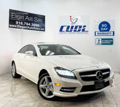 2013 Mercedes-Benz CLS for sale at Elegant Auto Sales in Rancho Cordova CA