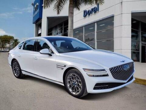 2021 Genesis G80 for sale at DORAL HYUNDAI in Doral FL