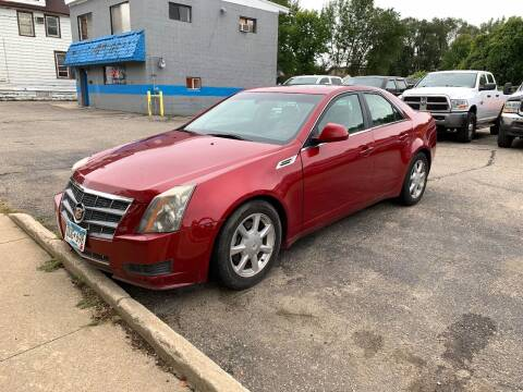 2009 Cadillac CTS for sale at BEAR CREEK AUTO SALES in Rochester MN