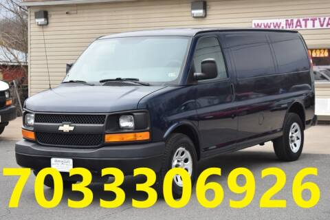 2012 Chevrolet Express Cargo for sale at MANASSAS AUTO TRUCK in Manassas VA