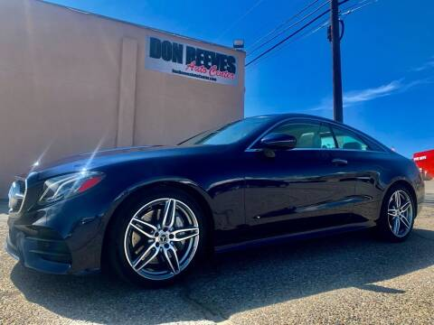 2018 Mercedes-Benz E-Class for sale at Don Reeves Auto Center in Farmington NM