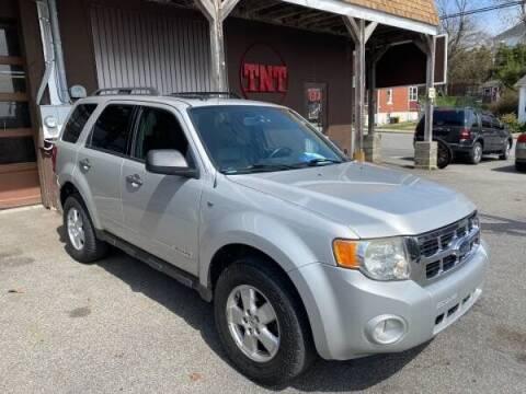 2008 Ford Escape for sale at TNT Auto Sales in Bangor PA