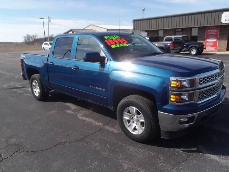 2015 Chevrolet Silverado 1500 for sale at Dietsch Sales & Svc Inc in Edgerton OH