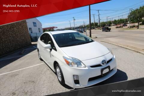 2010 Toyota Prius for sale at Highland Autoplex, LLC in Dallas TX