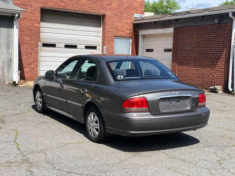 2002 Hyundai Sonata for sale at Emory Street Auto Sales and Service in Attleboro MA