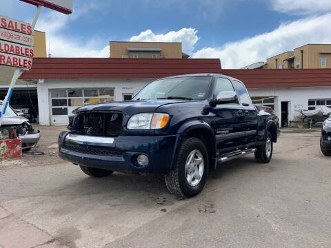 2003 Toyota Tundra for sale at STS Automotive - Sold in Denver CO