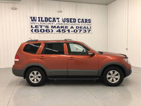 2009 Kia Borrego for sale at Wildcat Used Cars in Somerset KY